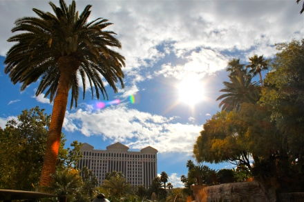 A Gorgeous Day In Vegas