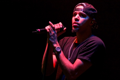 J. Cole Live At East Carolina University. Greenville, NC.