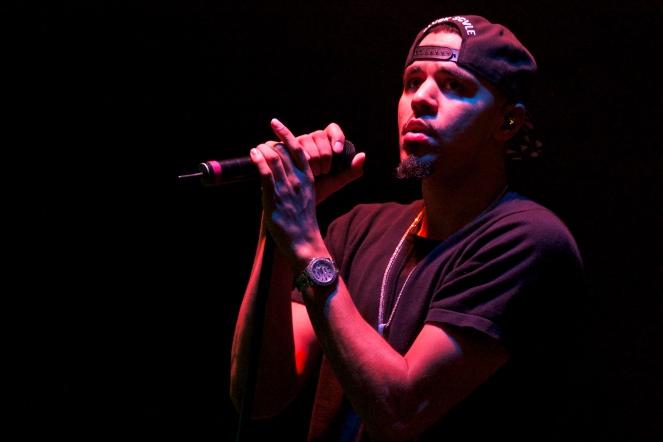 J. Cole Live At East Carolina University. Greenville, NC.