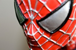 Spiderman Close Up