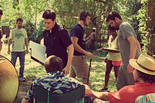 son-of-clowns-feature-film-production-still-evan-kidd-day-1-behind-the-scenes